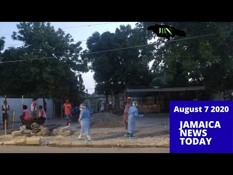 Jamaica News Today August 7 2020/JBNN