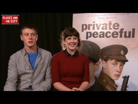 Private Peaceful Interview with Alexandra Roach & George Mackay