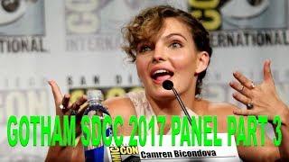 Gotham SDCC 2017 Panel Part 3 - Ben McKenzie, Robin Lord Taylor, Cory Michael Smith, Erin Richards