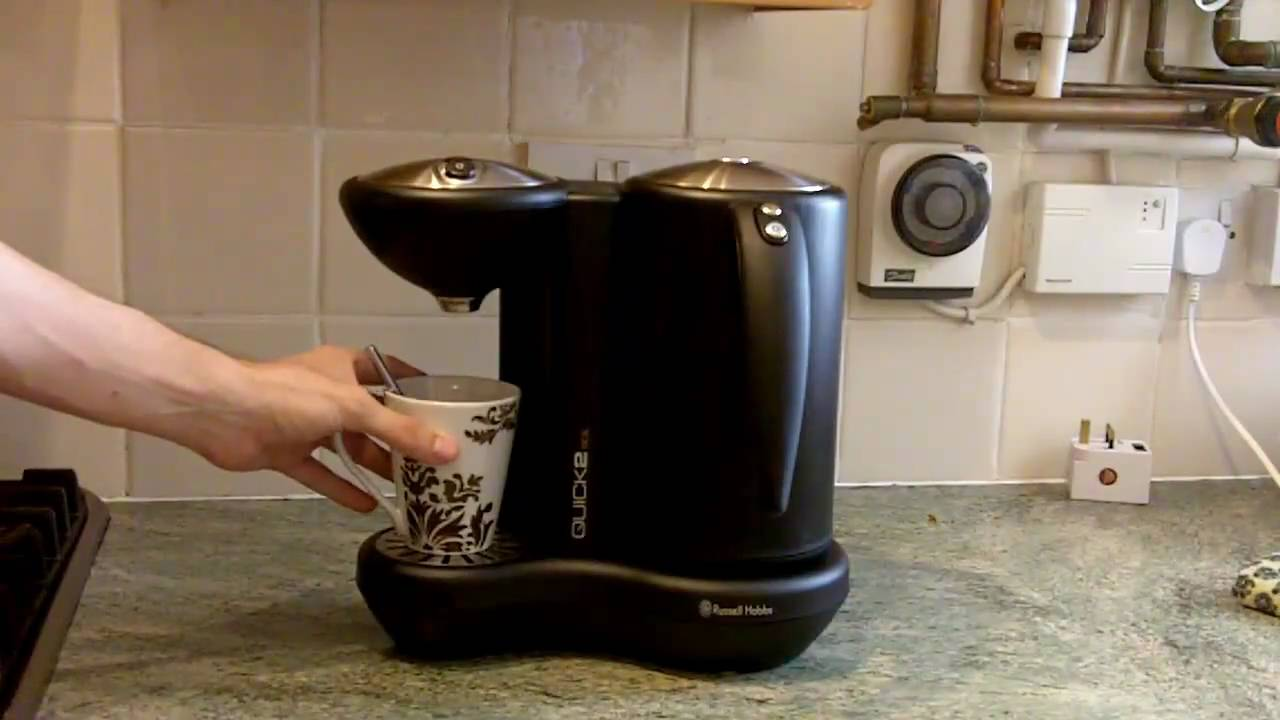 dispenser kitchen purple cabinets russell hobbs quick 2 boil kettle - youtube