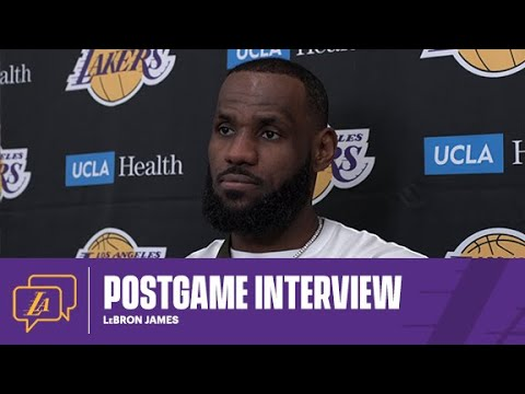 Lakers Postgame: LeBron James (3/2/21)