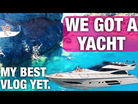 WE BOUGHT A YACHT IN GREECE!! AMAZING DRONE SHOTS!!