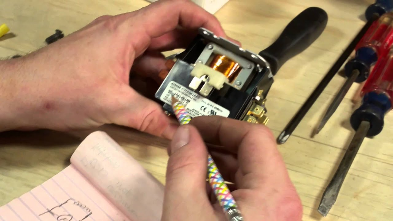 hight resolution of thermostat installation on shop heater part 1