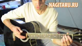 Детство - Ю. Шатунов - Аккорды в Em на гитаре + разбор боя