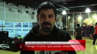 Carlos Cruzat realizó clínica de boxeo en Concepción
