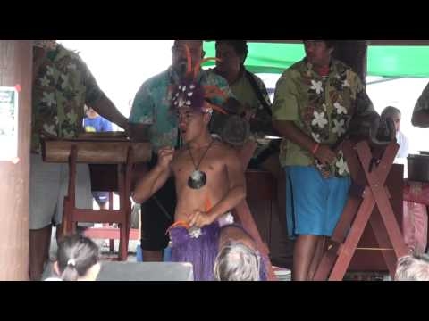 HERE WE ARE IN THE COOK ISLANDS PART 03 PUNANGA NUI MARKET