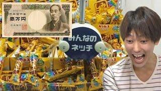 ネットUFOキャッチャー1万円分やったら景品どれだけ取れるのか? thumbnail