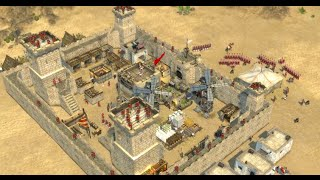 играем в Stronghold Crusaders II сетевая