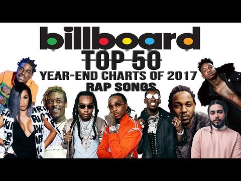 Top 50 • Best Billboard Rap Songs of 2017  YearEnd Charts
