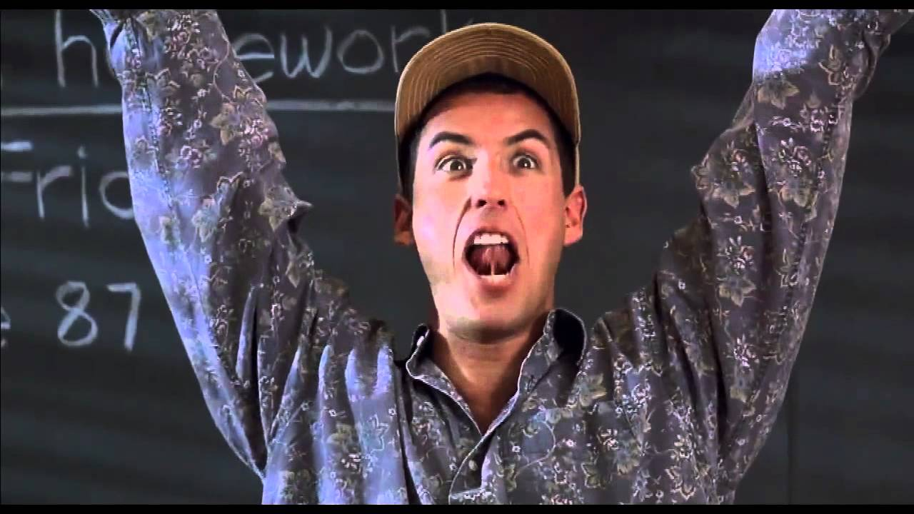 I am the Smartest Man Alive - Billy Madison Funny Quote