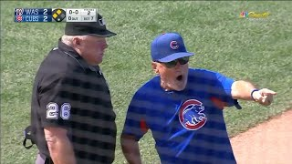 Joe Maddon gets his money's worth after interference call