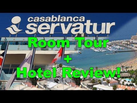 Servatur Casablanca Puerto Rico Hotel Room Tour/Hotel Review 2017