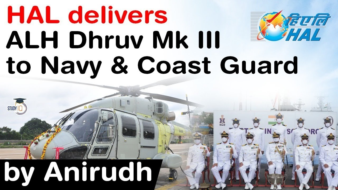 Download Indian Navy and Coast Guard gets ALH Dhruv Mk III delivery from HAL - Facts about ALH Dhruv Mk III