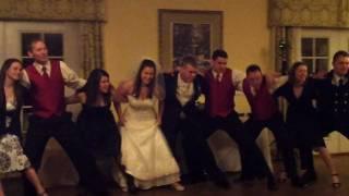 Arney Wedding - Aggie War Hymn