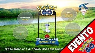 EVENTO DRATINI de la COMUNIDAD Pokemon GO- POLVO ESTELAR x3 y NUEVO MOVIMIENTO DRATINI