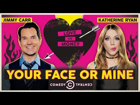 Jimmy Carr and Katherine Ryan Introduce New Your Face Or Mine | Comedy Central