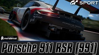 Gran Turismo Sport [EARLY ACCESS DEMO]: Porsche 911 RSR (991) | Lake Maggiore GP 30 Lap Endurance