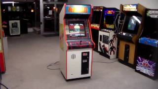 Tecmo's classic 1986 Rygar Arcade Game - Unique Cabinet, Gameplay Video