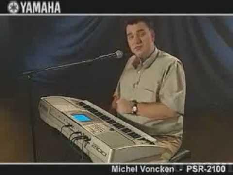 Yamaha PSR 2100 Demo Michel Voncken