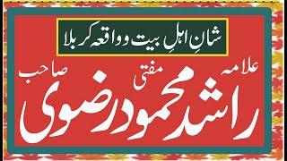 Allama Rashid Mehmood Rizvi at Masjid Siddiqia Ghousia Maira Shareef Bikhari Kalan