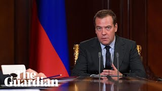 Russian PM labels doping ban 'anti-Russian hysteria'