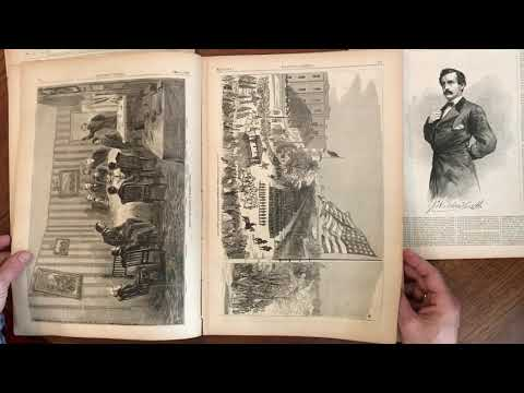 Abraham Lincoln Assassination April 1865 National press illustrated newspapers