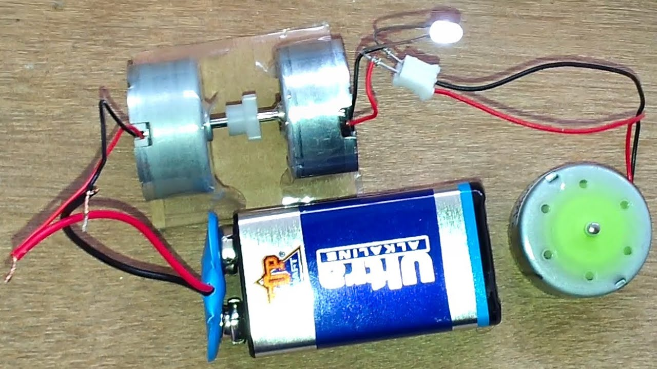 110 Ac Fan Wiring Turn An Electric Motor Into A Generator Youtube