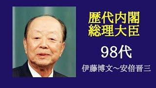 前回とは違い、戦後の首相も含めてまとめています。BGMは石橋湛山から変...