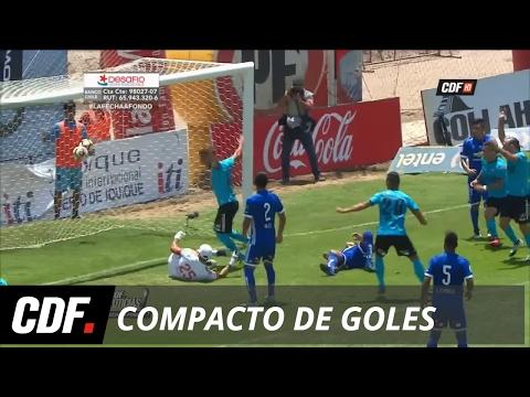 Deportes Iquique 2 -0 Universidad de Chile  | 1° Fecha | Torneo Clausura 2017 | CDF