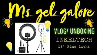 MOST RECOMMENDED LIGHTING BY YOUTUBERS|VLOG/UNBOXING|INKELTECH 18