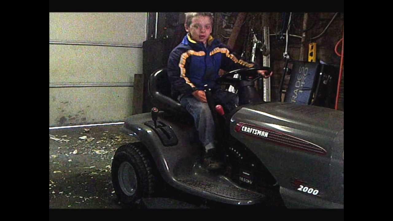 Jump Start A Lawn Tractor
