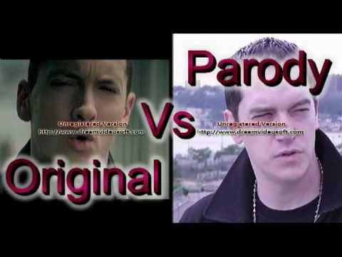 Songbattlz #1: Parody (Key of Awesome) Vs Original (Eminem): Not Afraid