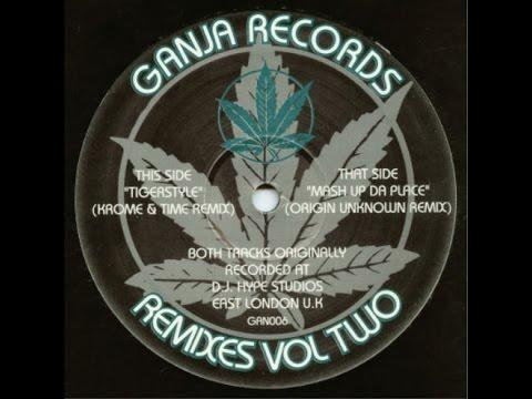"""DJ HYPE """"TIGERSTYLE"""" (KROME & TIME REMIX) 1994"""