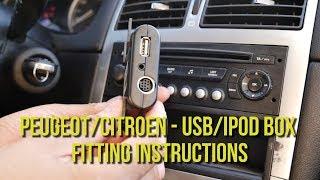 Bluetooth Adapter Aux Peugeot 207 307 Citroen C3 C4 Musik Freisprecheinrichtung