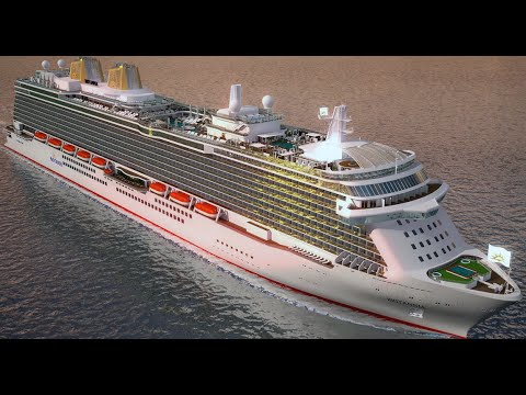Top 10 Most Luxurious Cruise Ship - HD