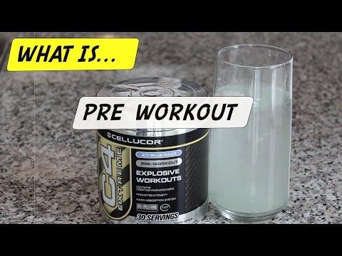 Pre Workout Explained (C4)