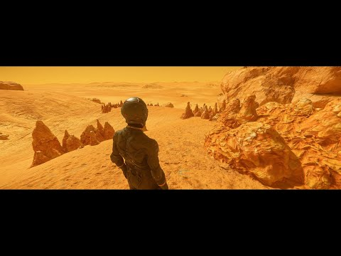 Star Citizen 3.8 - Planet Tech V4 - Arial - 4K Ultrawide