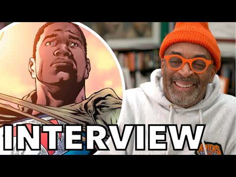 Spike Lee Talks BLACK SUPERMAN Movie Rumors, Why He Likes Marvel More Than DC | INTERVIEW