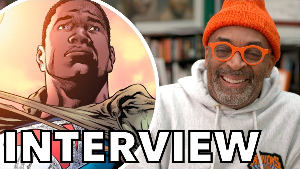 Spike Lee Talks BLACK SUPERMAN Movie Rumors, Why Marvel Is Better Than DC   INTERVIEW