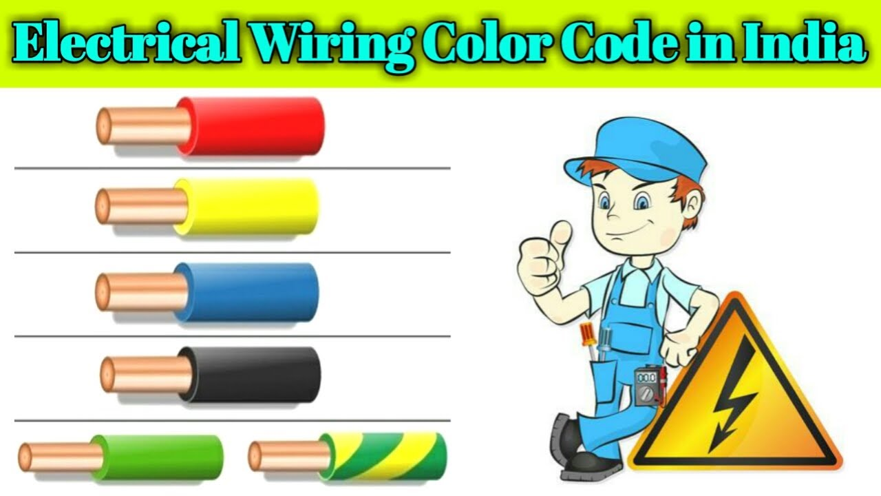 Electrical Wiring Color Code In India