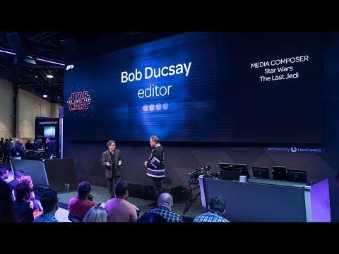 #MayThe4thBeWithYou — Star Wars: The Last Jedi editor, Bob Ducsay