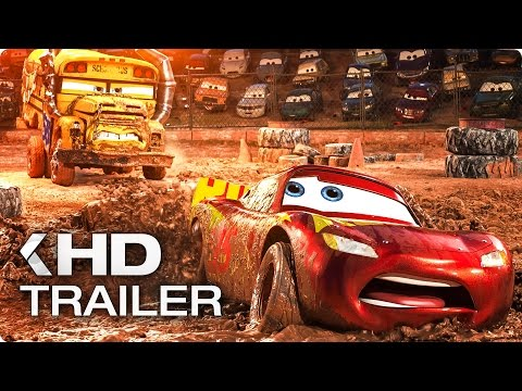 CARS 3 ALL Trailer & Clips (2017)