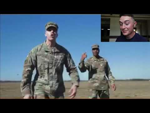 Soldier Reacts: US ARMY Recruiting Commerical