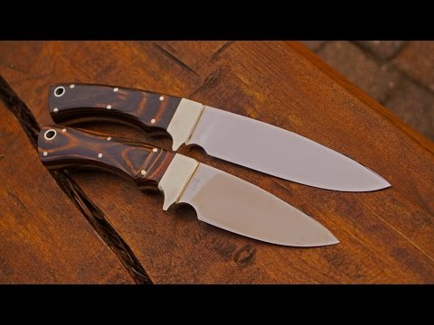 Winchester MKII Carl Schlieper Hunting Knives Jagdmesser Solingen Drop Point 80's Loveless Style