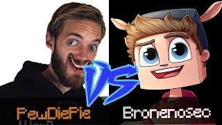 PewDiePie vs Bronenosec // У КОГО БОЛЬШЕ ПОДПИСЧИКОВ?