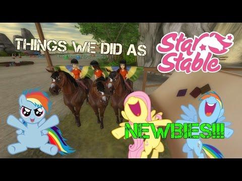 Things We Did As Newbies!! | Star Stable Online