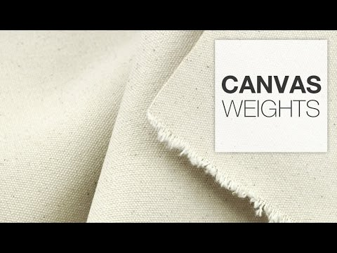 Comparing Canvas Weights