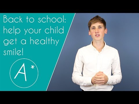 Help your child get a Grade A for oral health this year!