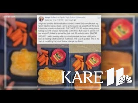 Mark - STUDENT'S QUESTIONABLE SCHOOL LUNCH POST GOES VIRAL