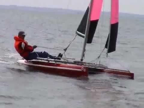 mono-cAt-387 DIY Homemade Plywood Beach Catamaran - YouTube